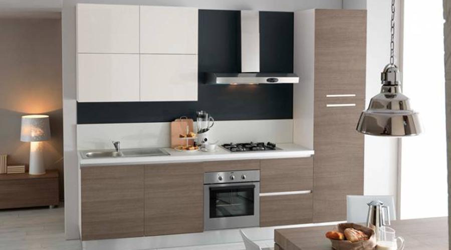M veis de cozinha low cost - Cucina moderna piccola ...
